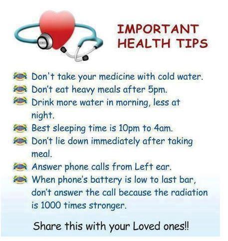 Health Tip 5